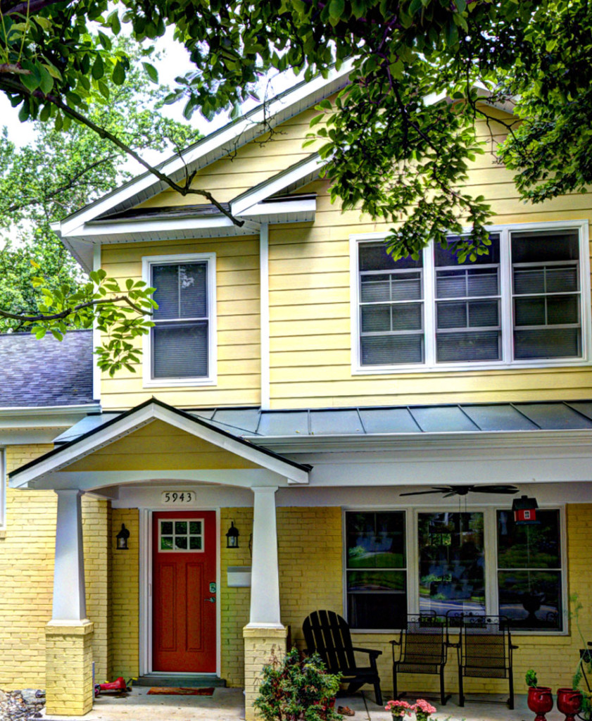 Alexandria and Arlington Custom Home Pop Top Addition