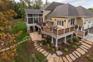 Professional Contemporary Custom Home Build project in Arlington VA