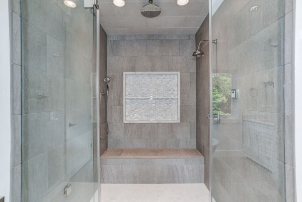 Transitional Custom Home design in McLean VA