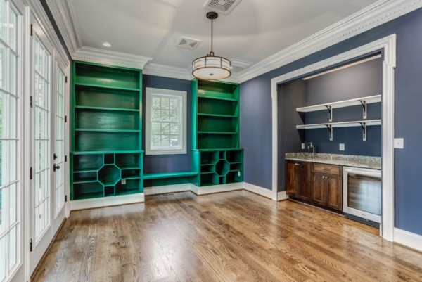 Transitional Custom Home accents Mclean VA