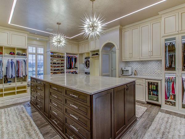 Custom Home Builders closets Arlington VA