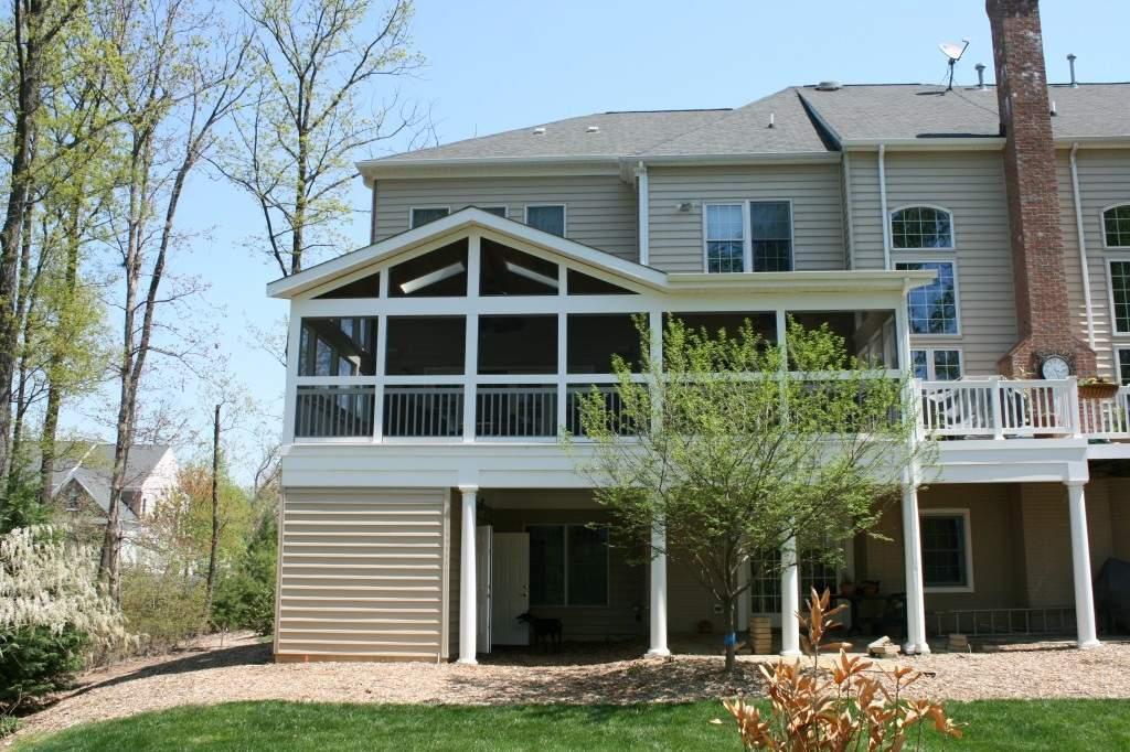 Leesburg, VA Design/Build exterior project