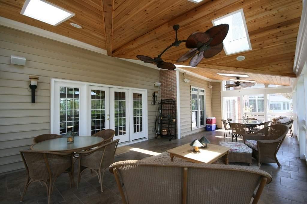 Leesburg, VA Design/Build porch project