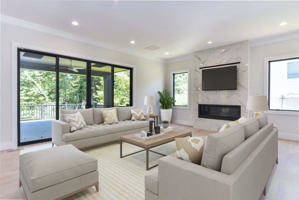 Home Design/Build room in Arlington, VA home