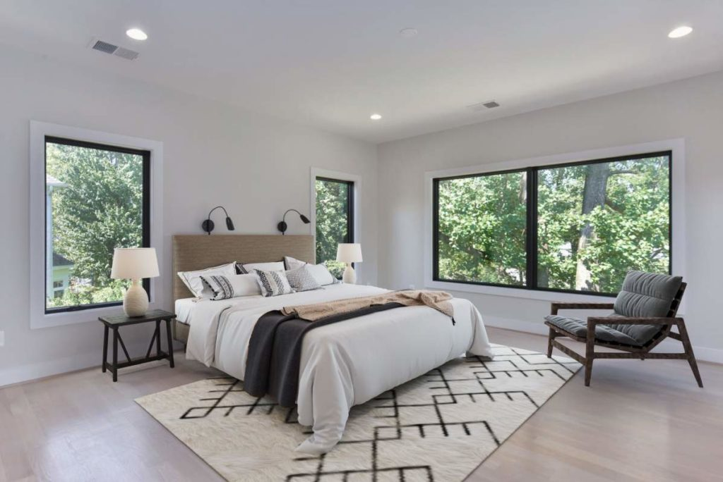 Custom Home Bedroom Alexandria VA