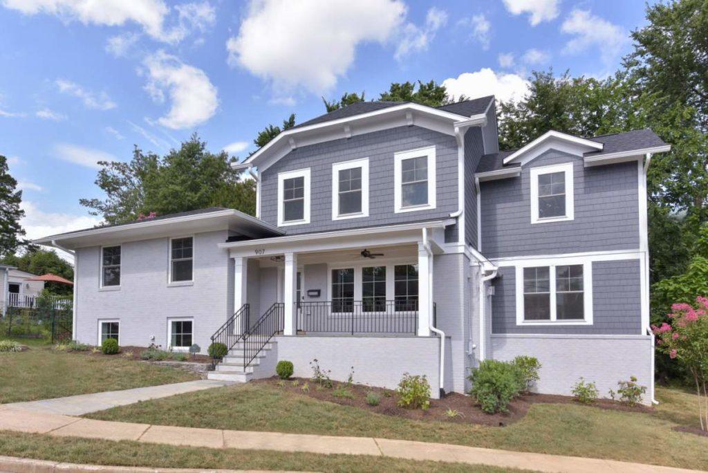 Pop Top Addition Home in Alexandria VA